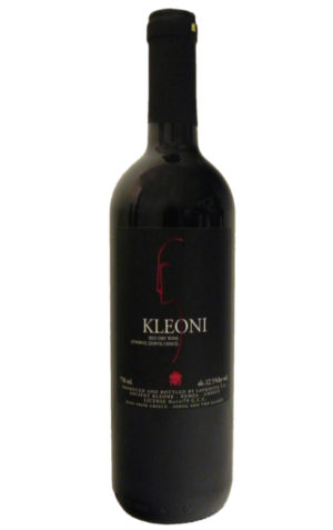 Kleoni Red Dry Wine 750ml Lafkiotis-0