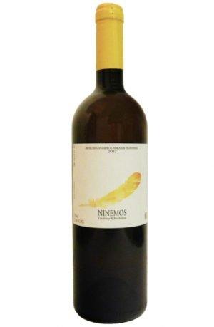 Ninemos White Dry Wine 750ml Lafkiotis-0