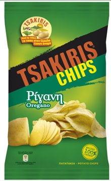 Potato Crisps with Oregano 120gr Tsakiris Chips-0