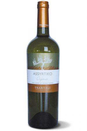 Assyrtiko Organic White Wine 750ml Tsantalis-0