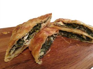 2 x 480gr Bougatsa Spinach & Feta Cheese Pie 960gr-0
