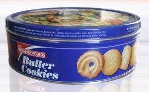 Butter Cookies 454gr Papadopoulou-0