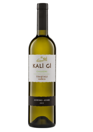 Kali Gi Organic Assyrtiko & Athiri White Wine 750ml Tsantali-0