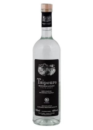 Tsipouro Tirnavos without anise 700ml -0