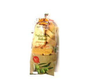 Olive oil whole grain wheat rusks 300gr - Paximadia ladiou - Chaniotika-0