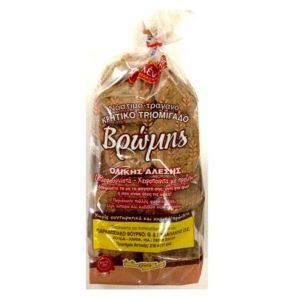 Whole grain oat rusks 350gr - Paximadi vromis - Chaniotika-0