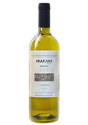 Hercules Savvatiano Dry White Wine 750ml Nemea Cooperative-0