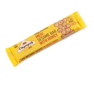 Sesame and honey bar - Pasteli 30gr Olympos-0
