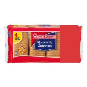 Thin Wheat Rusks Papadopoulou - Friganies 510gr-0