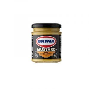 mustard-honey-herbs-brava-200ml-agora-greek-delicacies