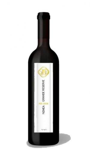 Nemea Grande Reserve Red Dry Wine PDO 750ml Nemea Cooperative-0