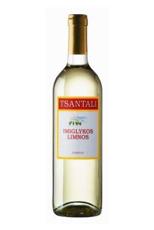 Limnos Semi Sweet White Wine 750ml Tsantali-0