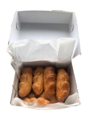 Koulourakia Smirneika - Orange & Vanilla Braided Biscuits 450gr Vlachos-0
