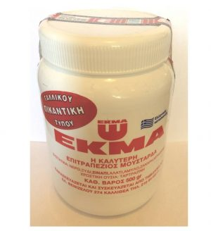 Spicy French type Mustard 500gr EKMA -0