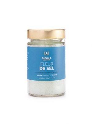 Fleur de sel - premium sea salt 160gr Sigma Gourmet-0