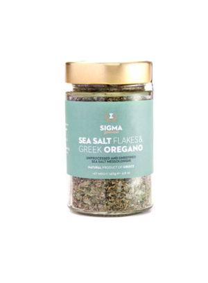 Sea salt flakes & oregano mix 140gr Sigma Gourmet-0