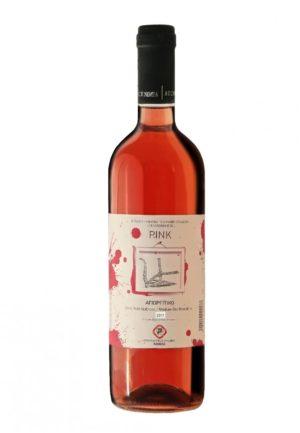 Pink Agiorgitiko Rose Semi-Dry Wine 750ml Nemea Cooperative-0
