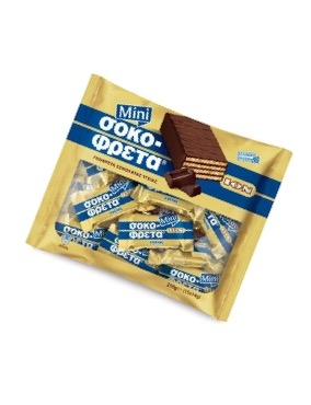 ION Sokofreta mini Dark Chocolate Wafer 210gr bag-0