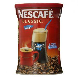 Nescafe Decaffeinated Frappe Coffee 200gr -0