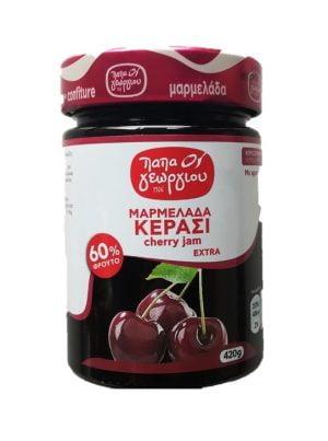 Cherry jam 420gr Papageorgiou-0