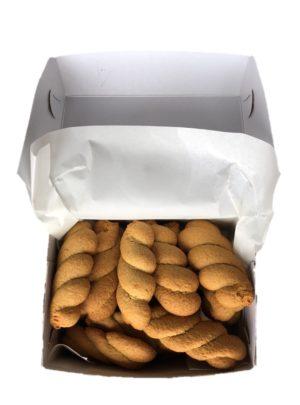 Koulourakia Orange Braided Biscuits 450gr Vlachos-0