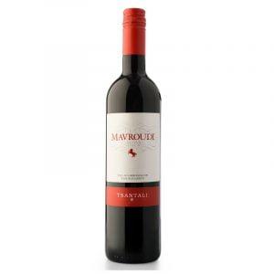 Mavroudi Red Dry Wine PDO 750ml Tsantali-0