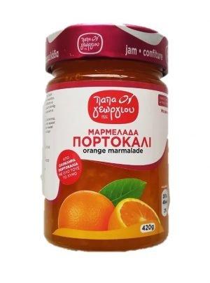 Orange jam 420gr Papageorgiou-0