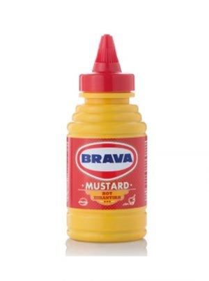 Mustard hot 250gr BRAVA-0
