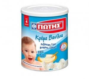 Vanilla Cream for Babies 300gr Jotis-0