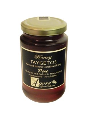 Pine Honey with Honeycomb 460gr Taygetos-0