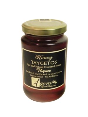 Thyme Honey with Honeycomb 460gr Taygetos-0