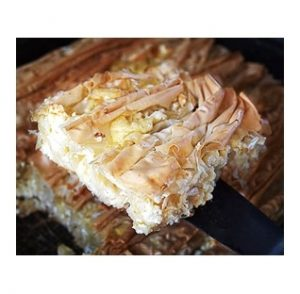 Tiropita - Feta and Mizithra Cheese Pie 1kg Famiglia-0