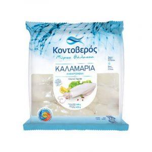 Whole Kalamari Squids raw 500gr Kontoveros-0