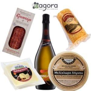 cheese-board-sparkling-wine-agora-greek-delicacies